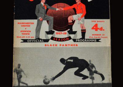 Man Utd v Ipswich 25.01.1958