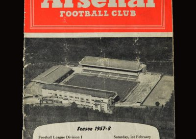 Man Utd v Arsenal 01.02.1958