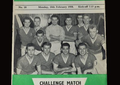 Hibs v British Army 10.02.1958