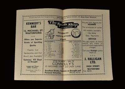 Waterford v Cork 30.01.1955