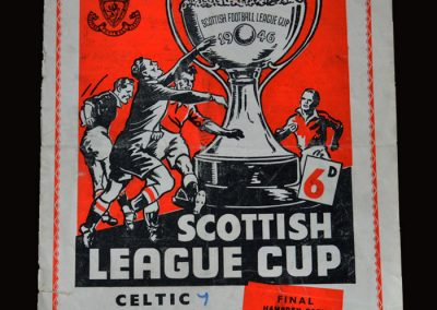 Celtic v Rangers 19.10.1957 (Dick in goal for Celtic in the famous 7-1 win)