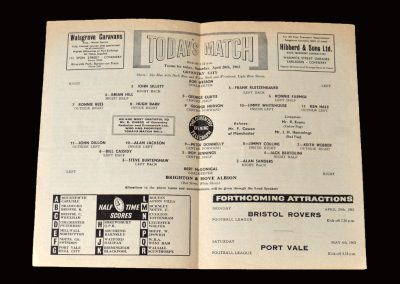 Coventry v Brighton 20.04.1963