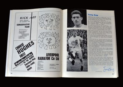 Everton v Fulham 11.05.1963 (Tony wins the League)