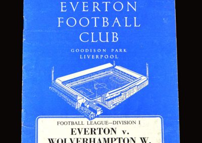 Everton v Wolves 11.04.1964