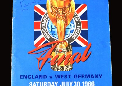 England v West Germany 30.7.1966 (Maybe for Tony & Peter?)