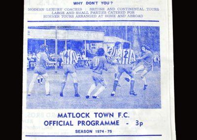 Matlock v Gibraltar 11.11.1975