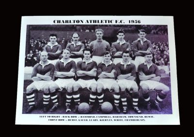 Charlton Athletic Team Photo 1956