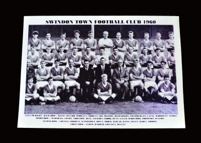 Swindon Town Team Photo 1960