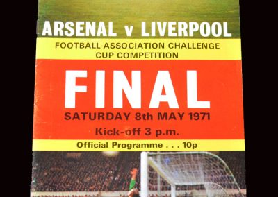 Arsenal v Liverpool 08.05.1971 - FA Cup Final