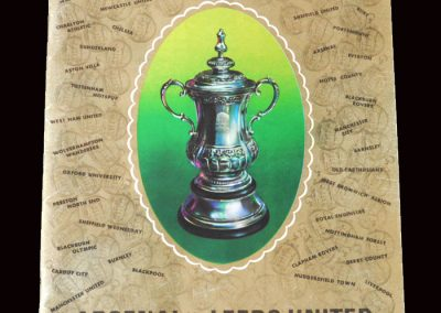 Arsenal v Leeds 06.05.1972 - FA Cup Final