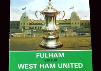 Fulham v West Ham 03.05.1975 - FA Cup Final