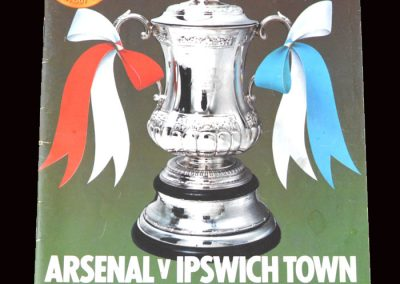 Arsenal v Ipswich 06.05.1978 - FA Cup Final