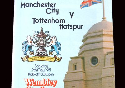 Man City v Spurs 09.05.1981 - FA Cup Final