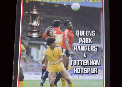 QPR v Spurs 27.05.1982 - FA Cup Final Replay