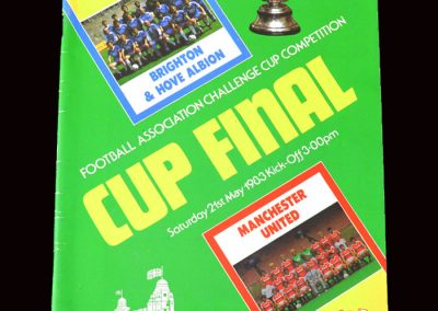 Man Utd v Brighton 21.05.1983 - FA Cup Final