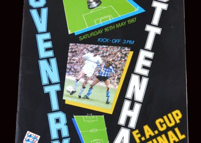 Coventry v Spurs 16.05.1987 - FA Cup Final