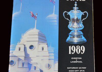 Everton v Liverpool 20.05.1989 - FA Cup Final