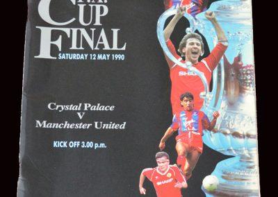 Man Utd v Crystal Palace 12.05.1990 - FA Cup Final