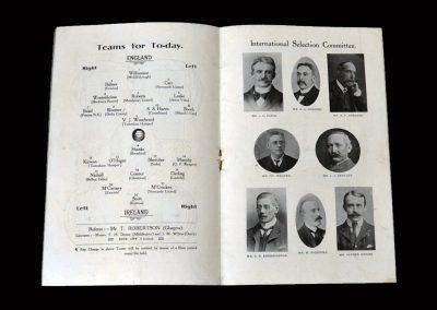 England v Ireland 25.02.1905