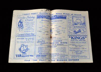 Everton v Sunderland 06.02.1937