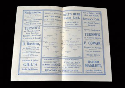 Runcorn v Preston 07.01.1939 - 3rd Rd nonleague v cup holders 2-4