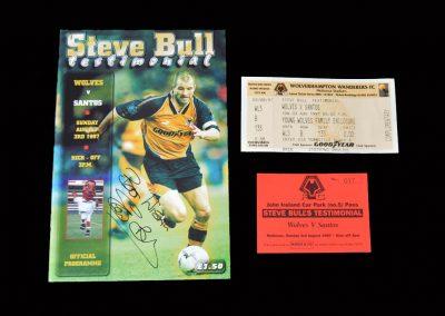Wolves v Santos 03.08.1997 - Steve Bull Testimonial