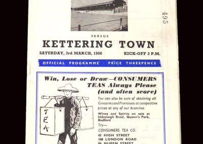 Kettering v Bedford 03.03.1956