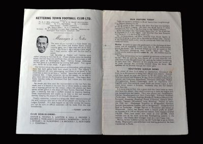 Kettering Reserves v Brush Sports 08.09.1956