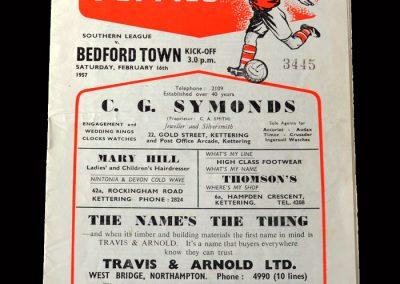 Kettering v Bedford 16.02.1957