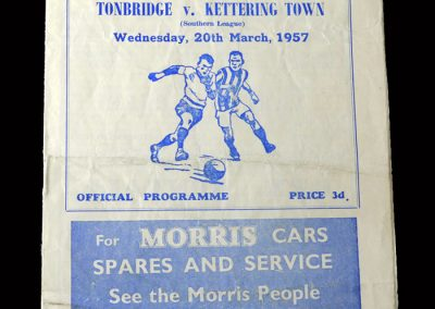 Kettering v Tonbridge 20.03.1957