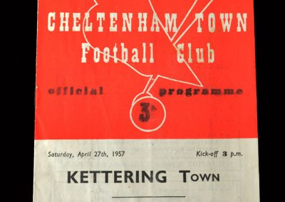 Kettering v Cheltenham 27.04.1957