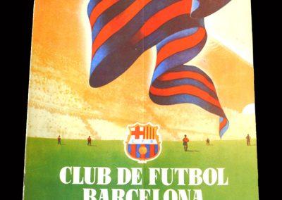 Barcelona Club Magazine April 1955