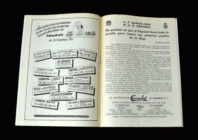 Barcelona v Espanyol 25.09.1954