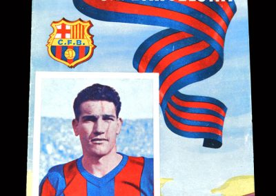 Barcelona v Las Palmas 23.10.1954