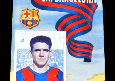 Barcelona v Coruna 27.11.1954