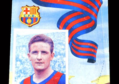Barcelona v Real Sociedad 11.12.1954