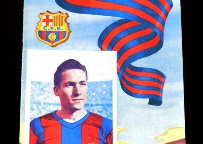 Barcelona v Alaves 01.01.1955