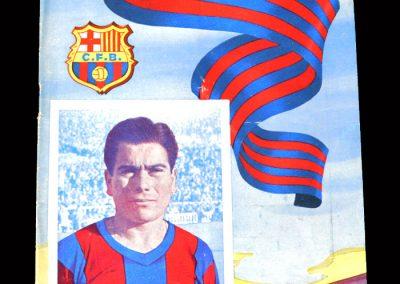Barcelona v Valencia 29.01.1955