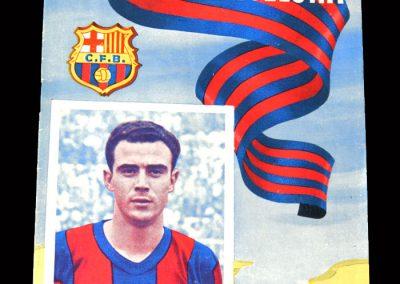 Barcelona v Malaga 12.02.1955