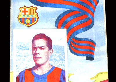 Barcelona v Bilbao 21.05.1955