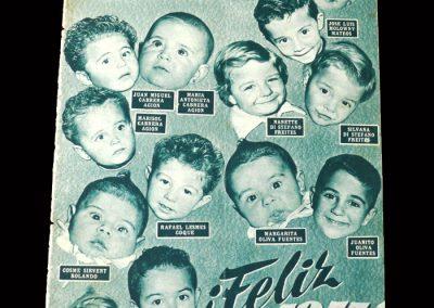 Real Madrid Magazine January 1955