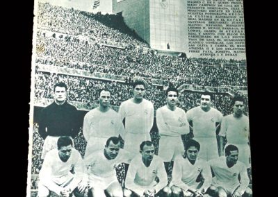 Real Madrid Magazine April 1955