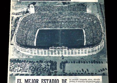 Real Madrid Magazine June 1955