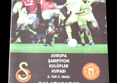Man Utd v Galatasaray 03.11.1994 (Sent off)