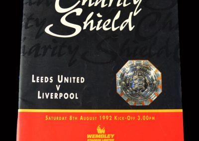 Leeds v Liverpool 08.08.1992 - Charity Shield (Hat trick)