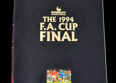 Man Utd v Chelsea 14.05.1994 - FA Cup Final