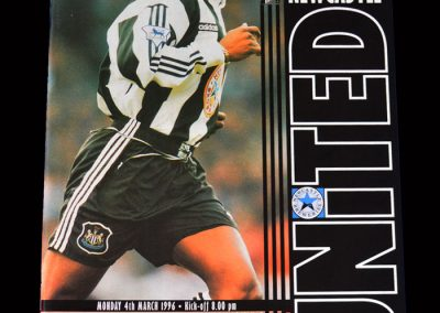 Man Utd v Newcastle 04.03.1996 (0-1 DT was there)