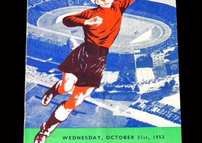 England v Rest of the World (FIFA) 21.10.1953