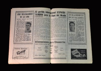 Spain v Turkey 06.01.1954 - Word Cup Qualifier