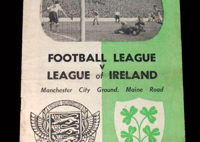 Football League v League of Ireland 10.02.1954